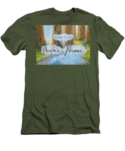 North Coast People's Alliance Men's T-Shirt (Athletic Fit)