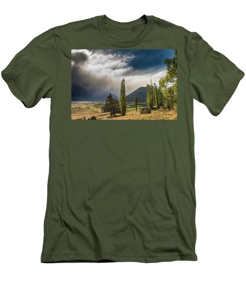 Men's T-Shirt (Athletic Fit) featuring the photograph North Of Glenorchy by Gary Eason