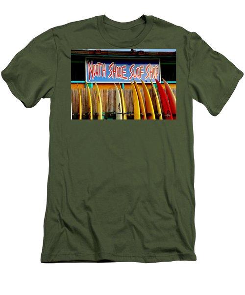 North Shore Surf Shop 2 Men's T-Shirt (Athletic Fit)