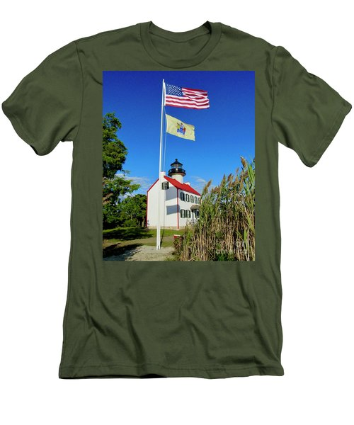 North Wind At East Point Light Men's T-Shirt (Athletic Fit)