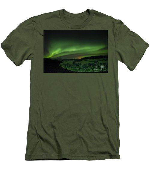 Northern Lights 3 Men's T-Shirt (Athletic Fit)