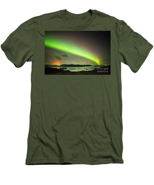 Northern Lights 6 Men's T-Shirt (Slim Fit) by Mariusz Czajkowski