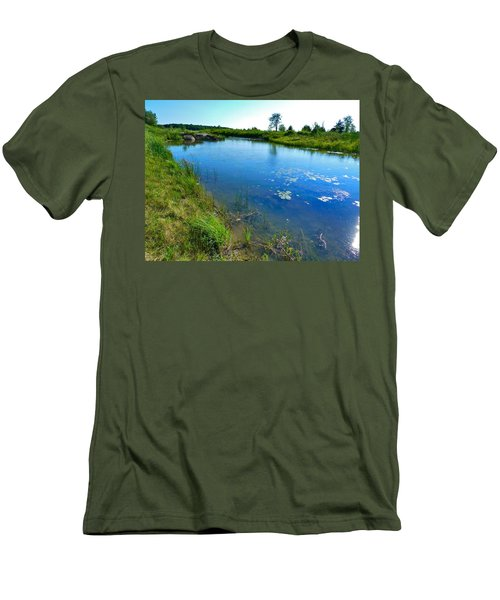 Northern Ontario 3 Men's T-Shirt (Athletic Fit)