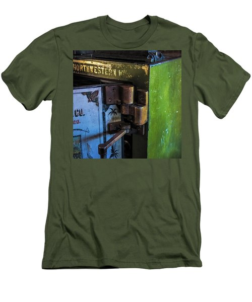 Men's T-Shirt (Slim Fit) featuring the photograph Northwestern Safe by Paul Freidlund