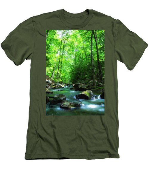Northwood Brook Men's T-Shirt (Athletic Fit)