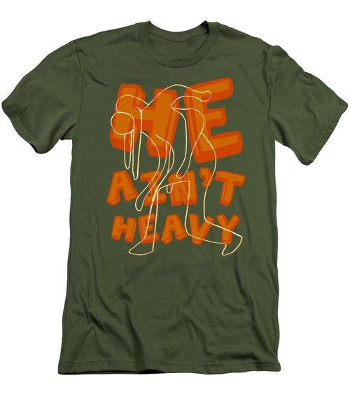 Not Heavy Men's T-Shirt (Athletic Fit)