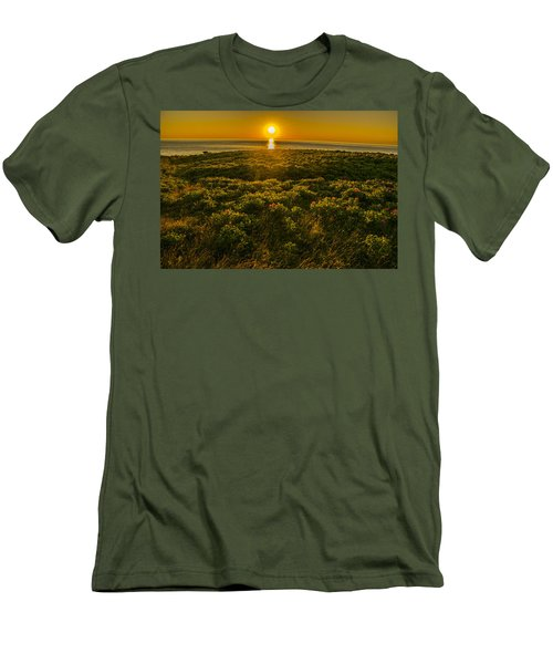 Nova Scotia Dreaming Men's T-Shirt (Slim Fit) by Will Burlingham