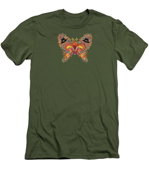 November Butterfly Of The Month Men's T-Shirt (Slim Fit)