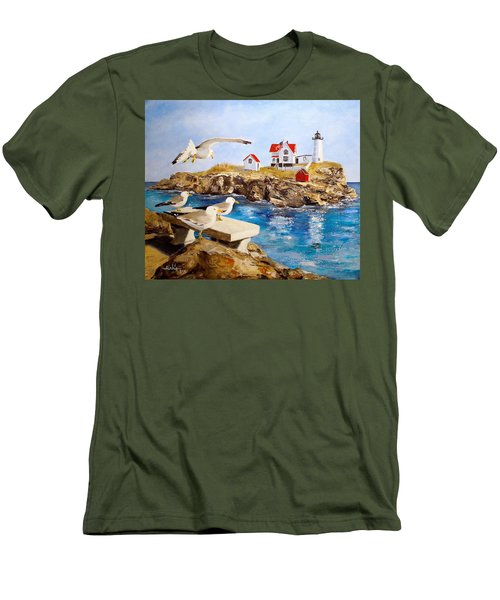 Nubble Light Men's T-Shirt (Athletic Fit)