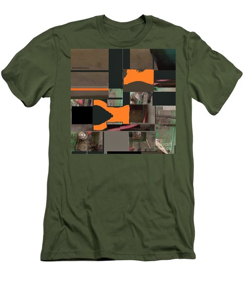 Nuts And Bolts Men's T-Shirt (Slim Fit) by Andrew Drozdowicz