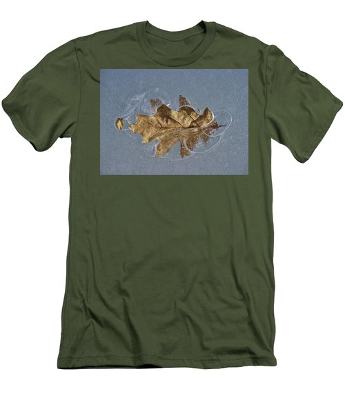 Oak On Ice Men's T-Shirt (Athletic Fit)