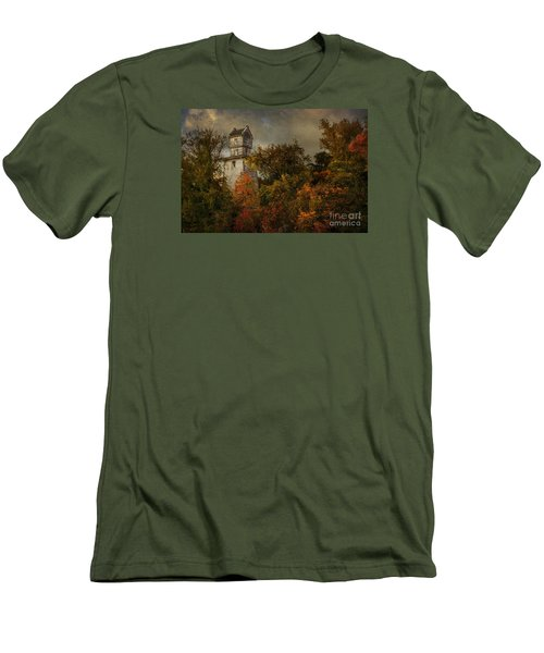 Oakhurst Water Tower Men's T-Shirt (Athletic Fit)