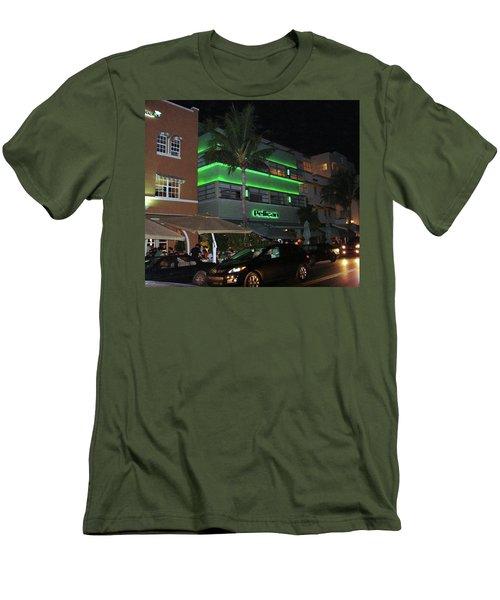 Ocean Drive Miami Beach Men's T-Shirt (Athletic Fit)