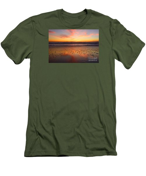 Men's T-Shirt (Athletic Fit) featuring the photograph Ocean Light by John F Tsumas