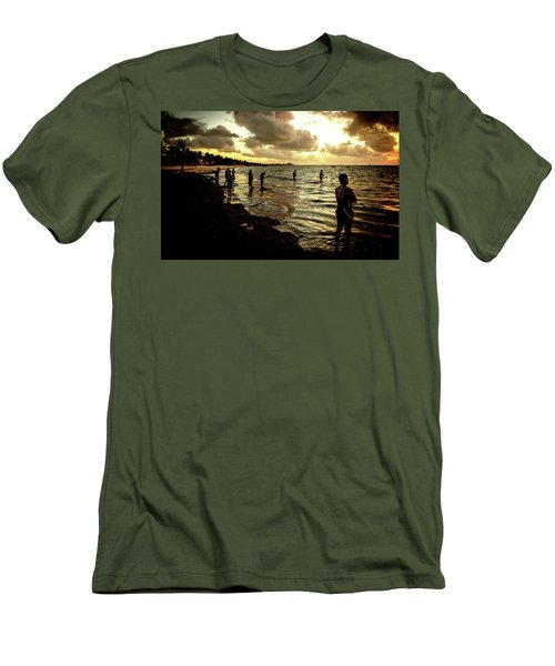 Ocean Thinker Men's T-Shirt (Athletic Fit)