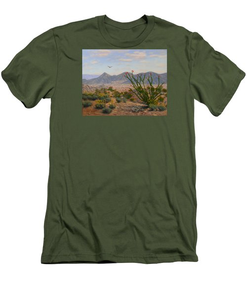 Ocotillo Paradise Men's T-Shirt (Athletic Fit)