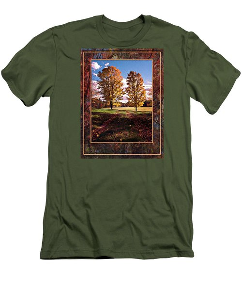 October Afternoon Beauty Men's T-Shirt (Slim Fit) by Joy Nichols
