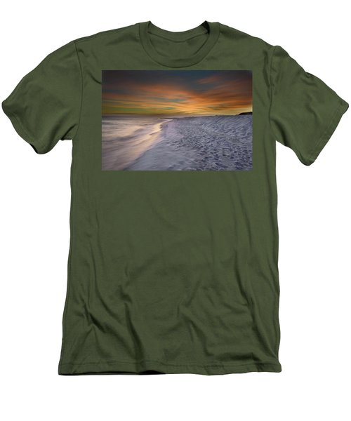 Men's T-Shirt (Slim Fit) featuring the photograph October Night by Renee Hardison