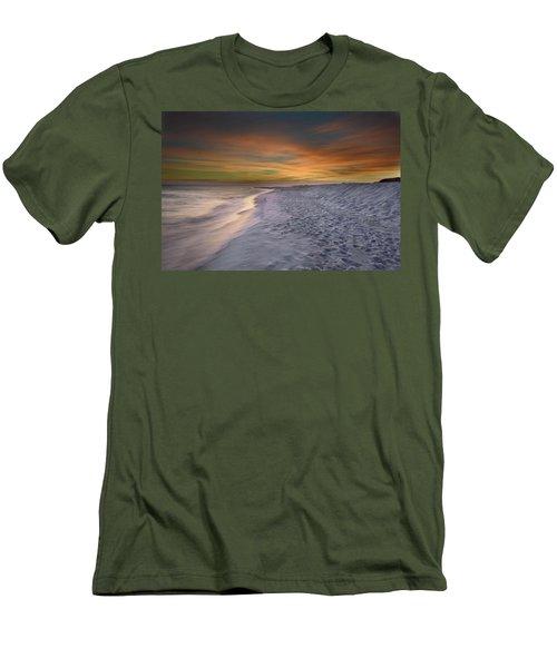October Night Men's T-Shirt (Slim Fit) by Renee Hardison