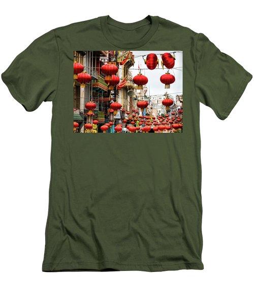 Red Lanterns Men's T-Shirt (Athletic Fit)