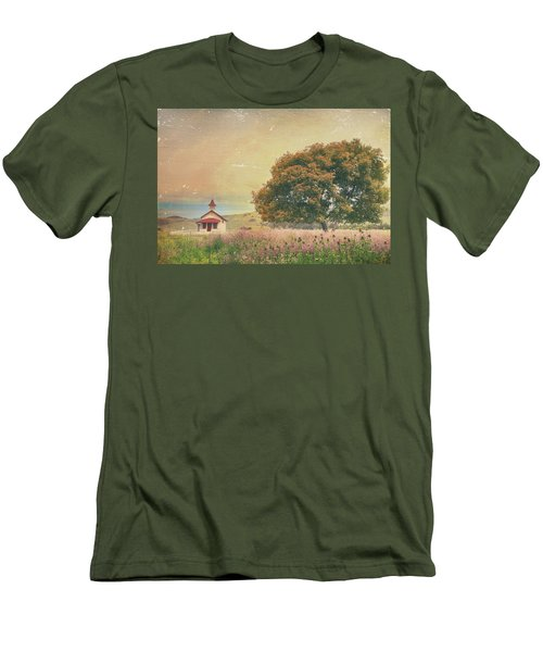 Of Days Gone By Men's T-Shirt (Slim Fit) by Laurie Search