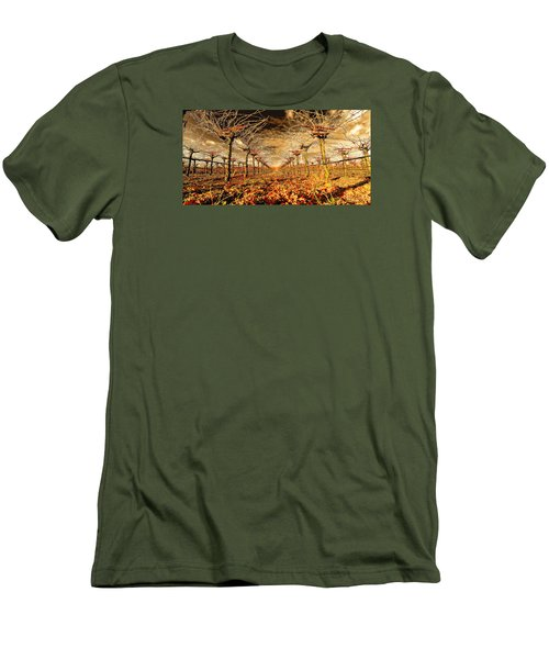 Men's T-Shirt (Slim Fit) featuring the photograph Off Of The Vine by Steve Siri