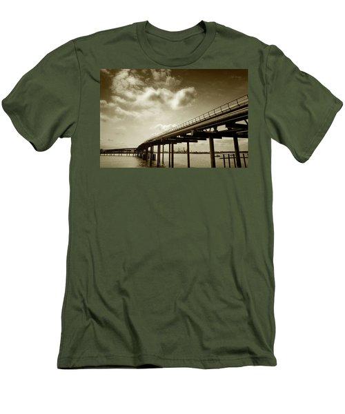 Oil Bridge II Men's T-Shirt (Athletic Fit)