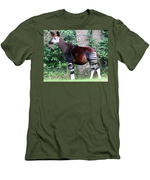 Okapi Men's T-Shirt (Athletic Fit)