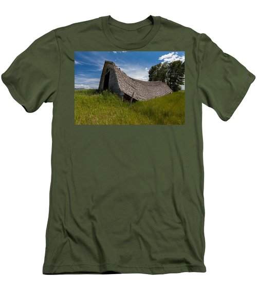 Men's T-Shirt (Athletic Fit) featuring the photograph Old And Sagging by Fran Riley