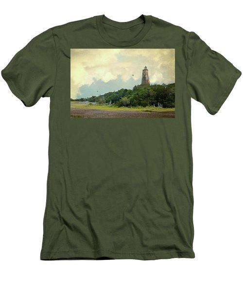 Old Baldy Men's T-Shirt (Athletic Fit)