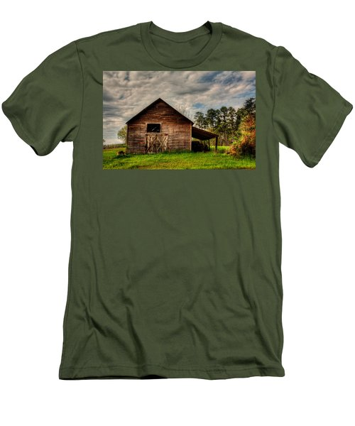 Old Barn Men's T-Shirt (Slim Fit) by Ester Rogers