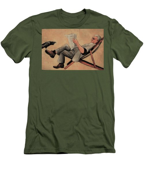 Old Birds Men's T-Shirt (Athletic Fit)