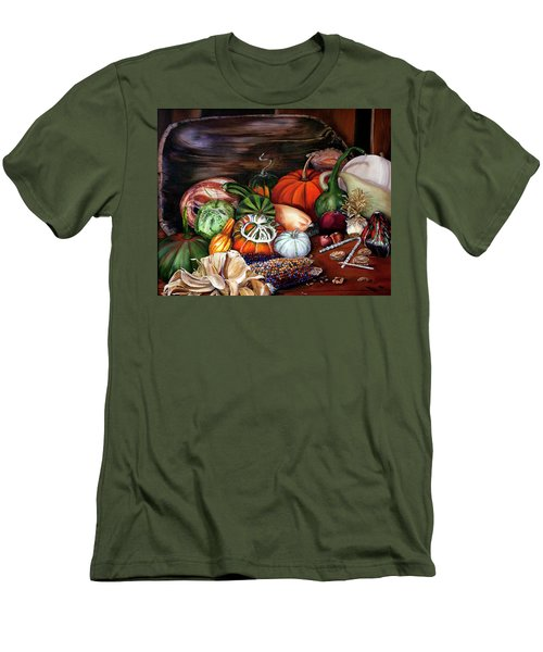 Old Bowl Cornucopia Men's T-Shirt (Athletic Fit)