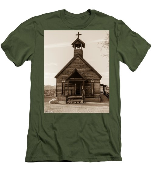 Old Church Men's T-Shirt (Athletic Fit)