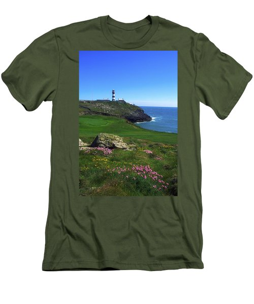 Old Head Of Kinsale Lighthouse Men's T-Shirt (Athletic Fit)