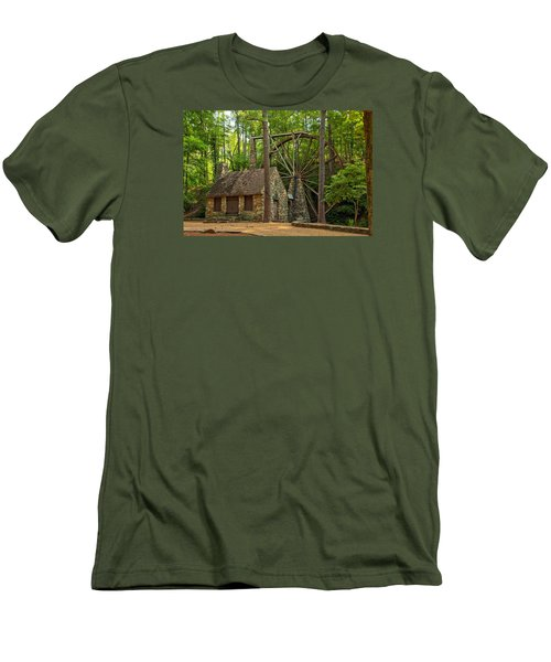 Old Mill At Berry College Men's T-Shirt (Athletic Fit)