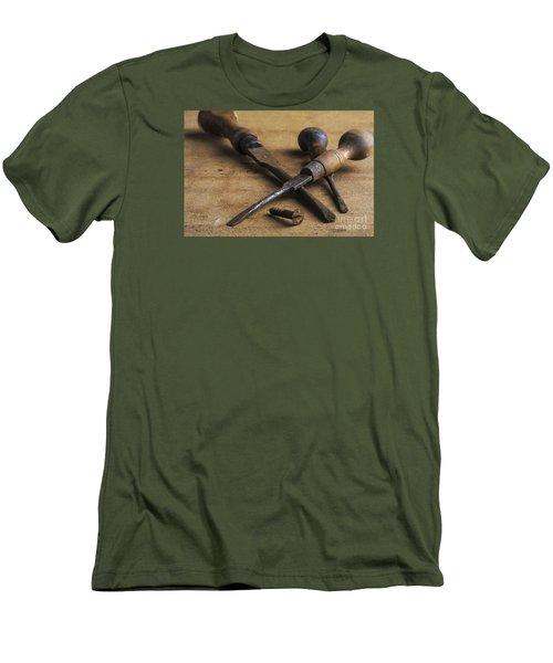 Old Screwdrivers Men's T-Shirt (Slim Fit) by Trevor Chriss