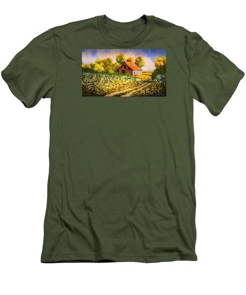 Old Spring Farm Men's T-Shirt (Athletic Fit)