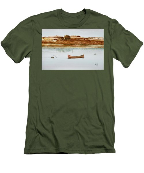 Old Town Canoe Menemsha Mv Men's T-Shirt (Athletic Fit)
