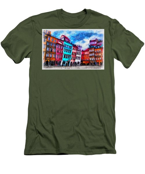 Old Town In Warsaw #11 Men's T-Shirt (Athletic Fit)
