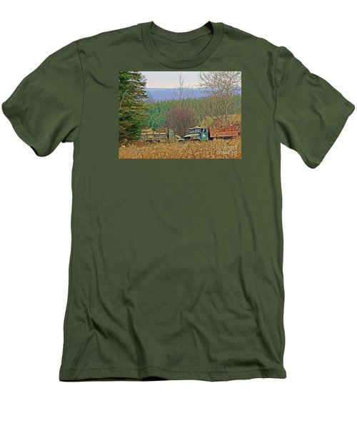 Men's T-Shirt (Slim Fit) featuring the photograph Old Warriors by Christian Mattison