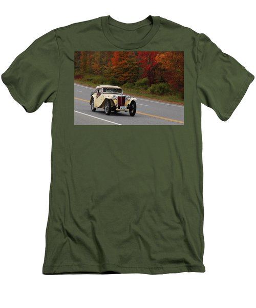 Men's T-Shirt (Slim Fit) featuring the photograph Old Yeller 8168 by Guy Whiteley