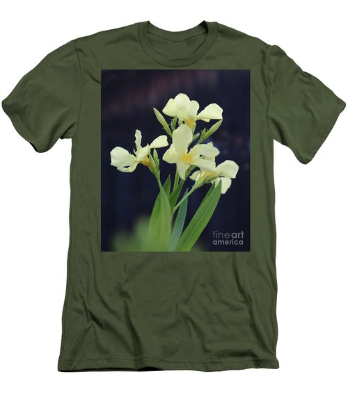 Men's T-Shirt (Slim Fit) featuring the photograph Oleander Marie Gambetta 2 by Wilhelm Hufnagl