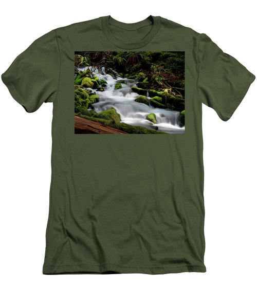 Olympic Spring Men's T-Shirt (Athletic Fit)