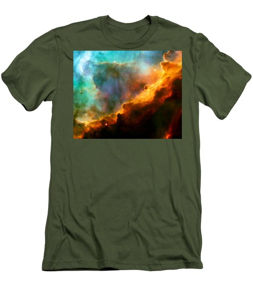 Omega Swan Nebula 3 Men's T-Shirt (Athletic Fit)