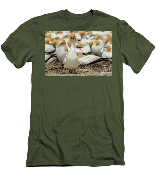 On Guard Men's T-Shirt (Athletic Fit)