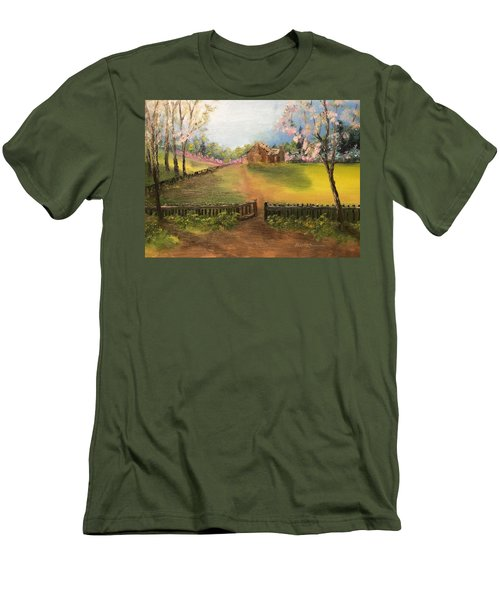 On The Farm Men's T-Shirt (Athletic Fit)