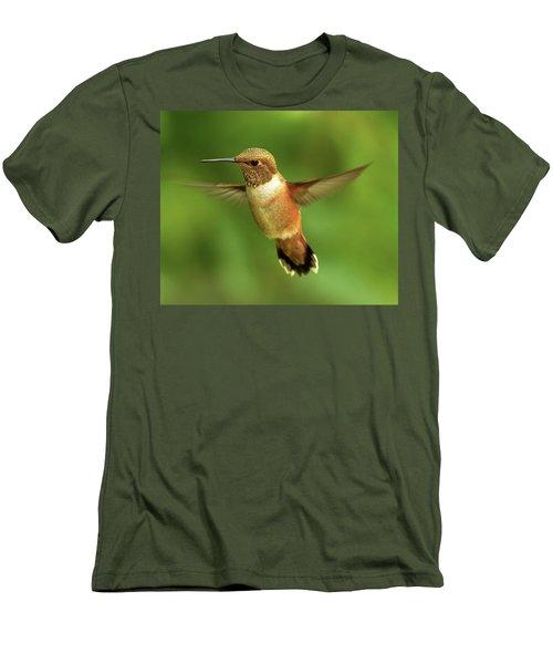 On The Lookout Men's T-Shirt (Slim Fit) by Sheldon Bilsker