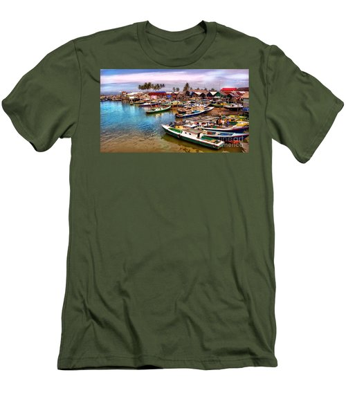 On The Shore Men's T-Shirt (Athletic Fit)