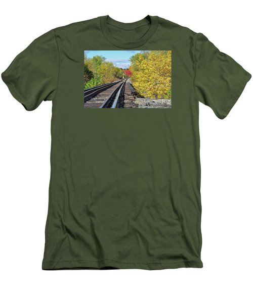 Men's T-Shirt (Slim Fit) featuring the photograph On To Fall by Glenn Gordon